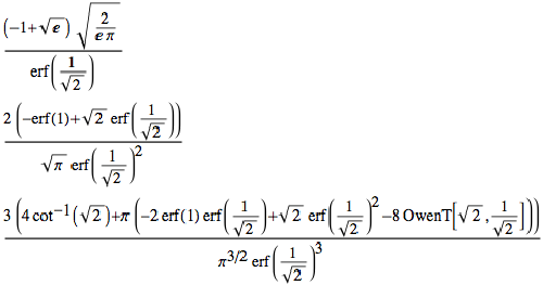 Formulas for the mean of orders 1 to 3 of truncated normal distributions