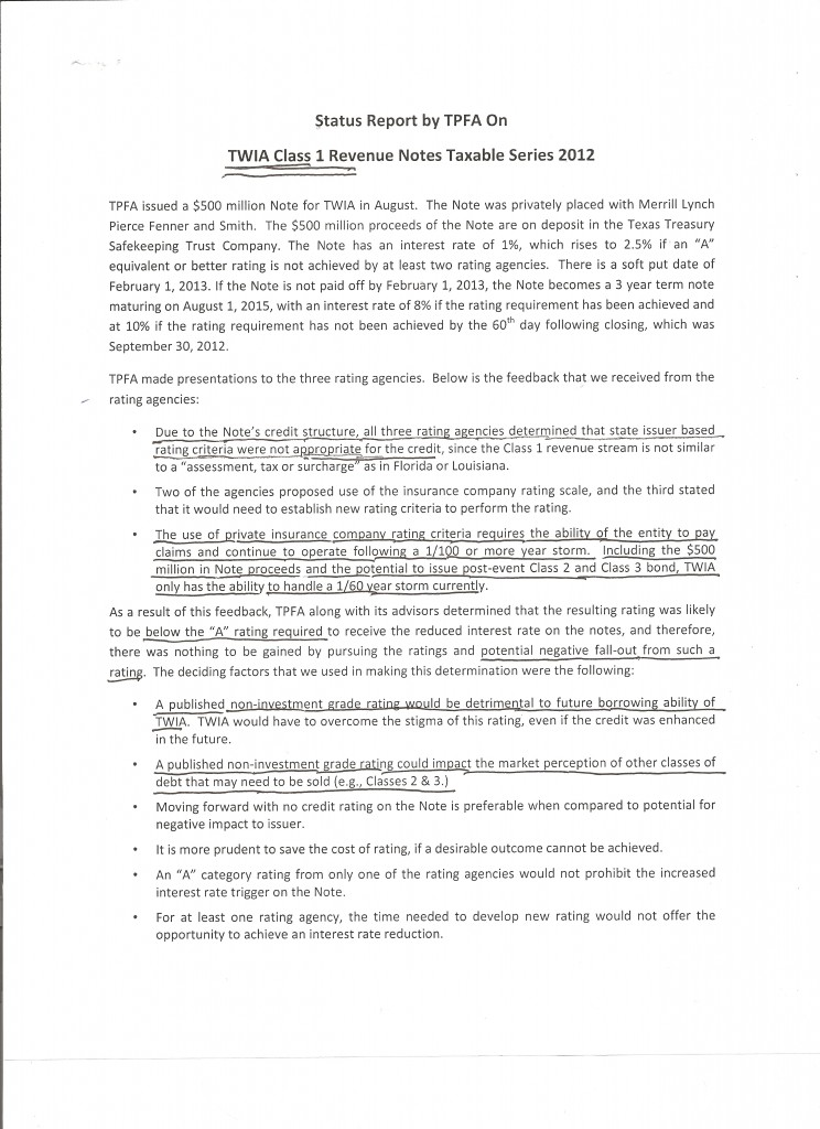 TPFA Class 1 TWIA Bond Assessment 001