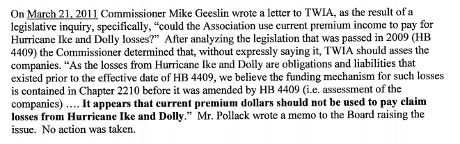 The Deshotel letter key paragraph