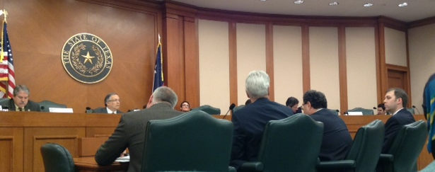 The Texas Senate Business and Commerce Committee discusses S.B. 18